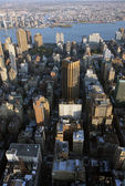 Aerial view of New York — Stock Photo