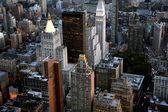 Aerial view of New York — Stockfoto