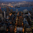 Stock Photo: Aerial view of New York