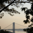 Washington bridge view — Stock Photo
