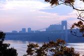 Washington bridge view — Stock Photo