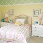 Yellow Bedroom — Stock Photo #3483191