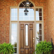 Front Entrance in Brick — Stock Photo
