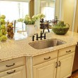 Stock Photo: Kitchen Island