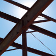 Metal Girders - Stock Photo