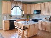 Modern Maple Kitchen 2 — Stock Photo