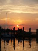 Sunset Marina — Stock Photo