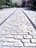 Tracks in Stone — Stock Photo