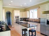 White Modern Kitchen — Stock Photo