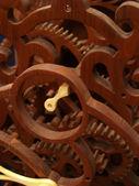 Wooden Clockwork — Stock Photo