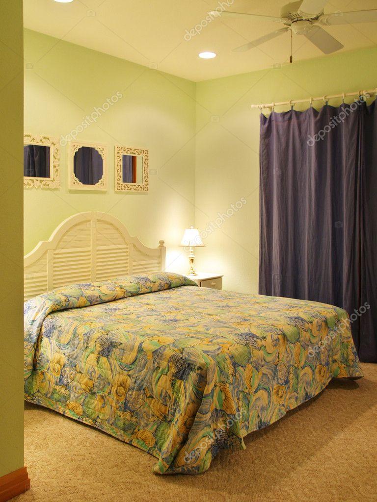 Gröna sovrum — stockfotografi © digerati #3483329