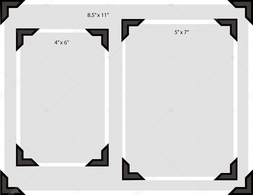how to use photo corners