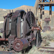 Stock Photo: Old Mining equipment
