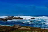 Ozean in pacific grove — Stockfoto