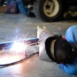 Stock Photo: MWelding