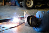 Man Welding — Stockfoto