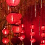 Big red lanterns — Stock Photo