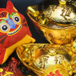 Chinese new year scene, — Stock Photo
