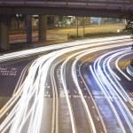 Hong kong traffic night — Stock Photo #2742516