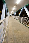 It is a modern flyover at night. — Stock Photo