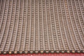 Chinese style roof tiles. — Stock Photo