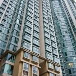 Hong Kong housing apartment block — Stock Photo