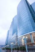 современное здание гонконга — Стоковое фото