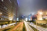 Traffic night — Stock Photo