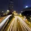 Royalty-Free Stock Photo: Traffic in downtown in hong kong