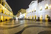 Largo do Senado, Senado Square, Macau — Stock Photo