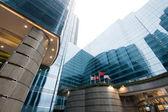 Modern byggnad i hong kong — Stockfoto