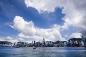 Hong kong morning — Stock Photo