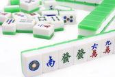 Mahjong, very popular game in China — Stock Photo