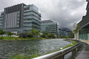 Hong kong modern building at daytime