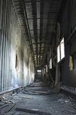Discarded building, corridor — Stock Photo