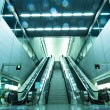 Escalator and stair — Stock Photo #3636939