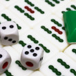 Stock Photo: Mahjong - asigame with dices