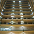 Stock Photo: Hong Kong public housing apartment block
