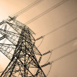 Royalty-Free Stock Photo: Electricity pylons