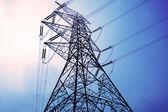 Torres de electricidad — Foto de Stock