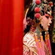 Asia chinese opera dummy with text space — Stock Photo