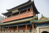 China architecture - Taken in The great Wall, Beijing, China — Stock Photo
