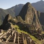 Machu Picchu-panorama — Stockfoto