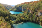 Lakes in Plitvice National Park — Stock Photo