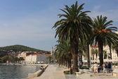 Promenade at Historic City in Croatia — Stock Photo