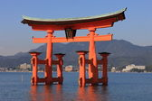 Torii, Shinto Shrine — Stock Photo