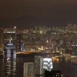 Hong Kong Kowloon skyline at night — Stock Photo #2935977