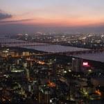 Osaka City in Japan at night — Stock Photo #2936123