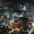 Seoul City in South Korea at night — Stock Photo