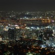 Seoul City in South Korea at night — Stock Photo #2936208